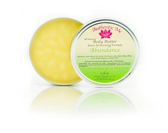 Abundance All Natural Body Butter