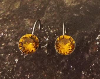 TOPAZ CRYSTALIZED Swarovski element earrings