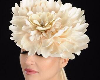 Cream Wedding Fascinators Hats
