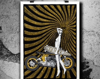 Conerock 2016 V Edition - 4 Colours Handpulled Silkscreen Poster