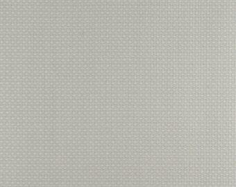 Green And Grey Basket Weave Jacquard Woven Upholstery Fabric By The Yard | Pattern # D344