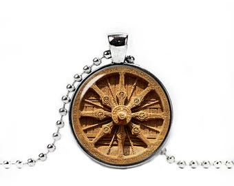 Dharma wheel etsy dharma wheel necklace wheel of the dharma pendant buddhist symbol dharmachakra necklace buddhist jewelry aloadofball Gallery