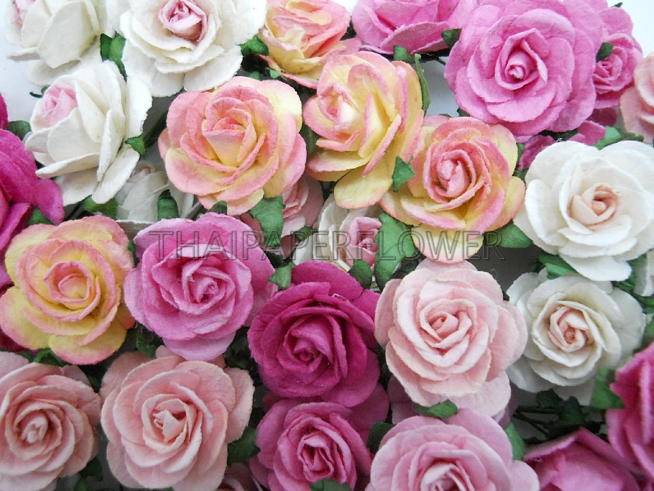 100 mixed pink paper flower scrapbook card making home decor craft 100 mixed pink paper flower scrapbook card making home decor craft supply rose 6 00 mightylinksfo