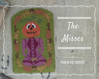 The Misses Punch Needle Pattern
