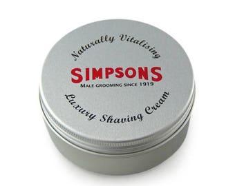 Simpson Classic Shaving Cream - Sandlewood