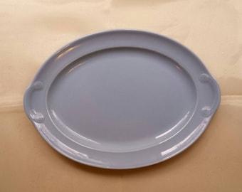 Lu-Ray Blue Pastel Platter made in USA LuRay Pastels #8 Dish Lu-Ray Oval Blue Dish T. S u0026 T Luray Windsor Blue Dinnerware & Luray dinnerware   Etsy