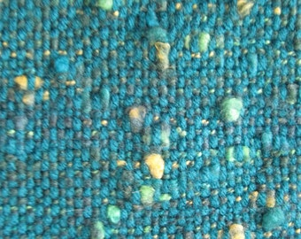 135 - Teal Handwoven   Shawl