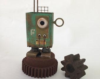Tarpley S2 Surveillance Drone #F, Collectible, Doug Rhodehamel, robot sculpture, robot art, drone