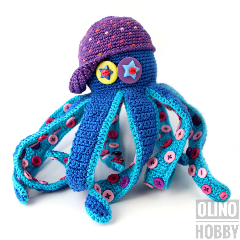 OCTOPUS Crochet Pattern PDF - Crochet octopus pattern Amigurumi ...