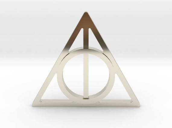 Harry Potter Deathly Hallows Symbol Lapel Pintie Tack Harry