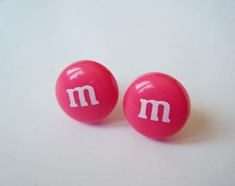 Earrings ♥ ♥ ♥ pink candy M