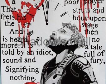Christopher Eccleston as Macbeth