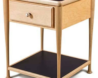 Baseball Bat Nightstand by Sporty Beds