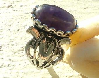 Dark Amethyst ring