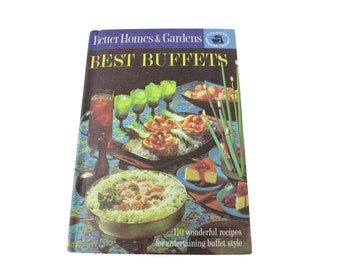 Hardcover-Best Buffets by Better Homes & Gardens Cook Book