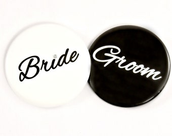 Bride to Be Button Pin