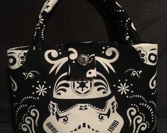 Storm trooper Star Wars darkside custom handbag