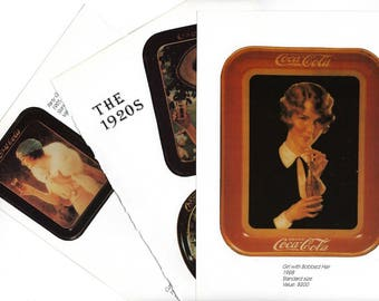 Coca Cola Collage Paper Pack, Coke Clip Art, Tray Clipart, Paper Ephemera Scrap Pack for Paper Arts, Scrapbooking or Decoupage PSS 3530