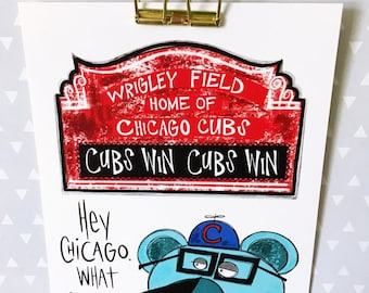 Chicago Cubs Print