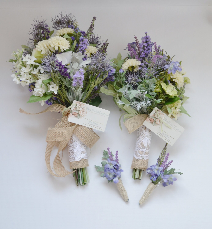 Rustic Bridesmaid Flowers – Fashion design images