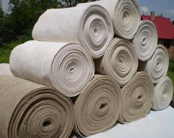 Hemp Fabric Handmade 100% organic vegan