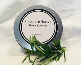 Herbal Vapor Rub - 4 oz.