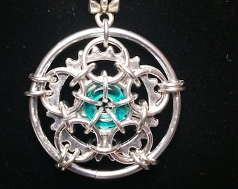 In-Cog-Neat-O Tutorial. Instructions to make this beautiful original design pendant