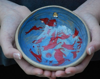 Decorative ceramic bowls, Prep bowls, Small ceramic bowls, dip bowls, Handmade pottery, Housewarming gift, Anniversary gift, Valentines day
