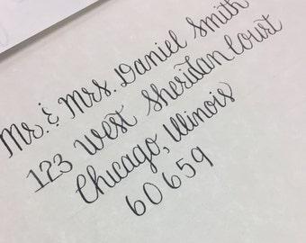 Custom Wedding Envelope Caligraphy