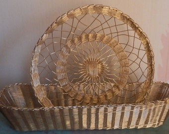 French Country Wire Baskets!