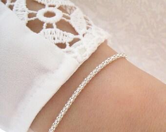 Bracelet fine plated Silver 925/1000