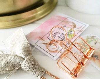 BINDER-CLIP Box Bronze Kupfer Rosegold Feder Reisende Notebook Reisen Reisen foxy Fix TN Märchen Edelsteine, die mystische Edelsteine Kristalle woo