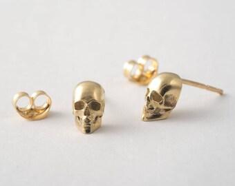 Minimalist skull Etsy