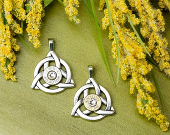 Bullet Jewelry - Celtic Knot Bullet Pendant (38 SPL / 40 / 45)