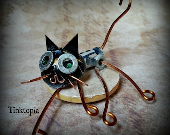 Cat - Bot Hand made cat robot by Beth Aplebey, Tinktonia