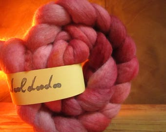 Strand of hand - dyed wool 108 gr