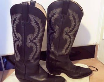 Women Cowboylaarzen Size 37 - 38 EU,  7 US ,  5 UK ,  Tony Mora.