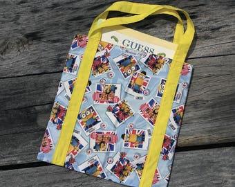 Minions library bag, tote bag
