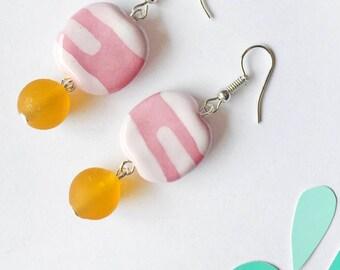 Pretty In Pink - Earrings