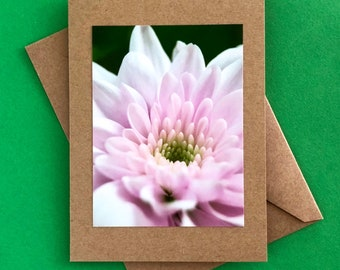 Handmade note card - greeting card - Mother's day card - just because card