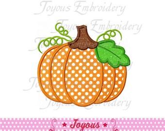 Instant Download Thanksgiving Pumpkin Applique Embroidery Design NO:1544