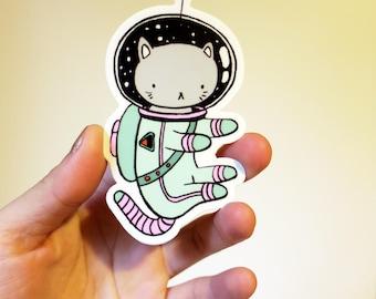 Space Cat - Vinyl sticker