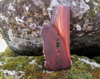 Rustic Style Decor Wooden Manzanita Light Switch Plate Single Wallplate 8