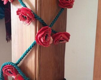 2 meters rose garland
