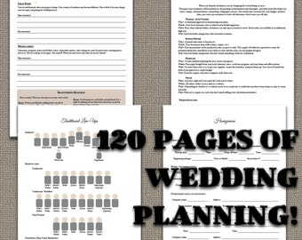 120 Page ULTIMATE Wedding planner download
