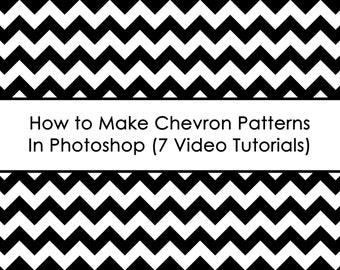 ECOURSE - How to make chevron patterns in photoshop AllAboutTheHouse how to make paper overlays to use for printable fabric home decor etc.