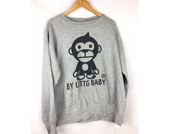 By UTTG BABY Long Sleeve Sweatshirt LL Size With Big Logo
