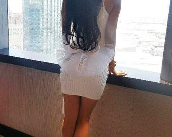 Bachelorette Party, Bridal Butt Veil,(Booty Cover, Booty Veil)  -PERSONALIZED by CYA Bikini Veils