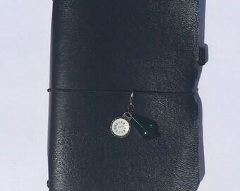 Travelers Notebook Elastic Charm, Planner Charm, Charm, Purse Charm, Key Chain
