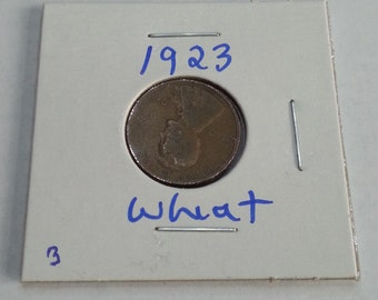 1923 Wheat Penny, Nice Luster